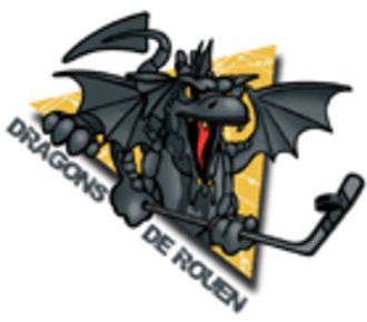 Dragons de Rouen - Old logo