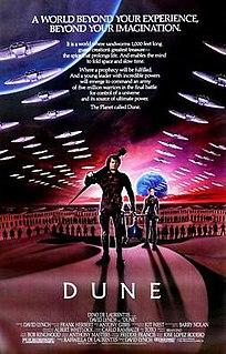 <i>Dune</i> (1984 film) 1984 epic science fiction film by David Lynch