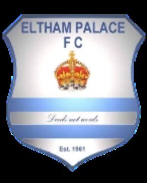 Eltham Palace F.C. - Image: Eltham Palace F.C. logo