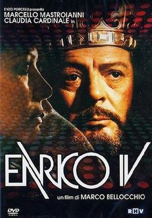 Henry IV (film) - DVD cover