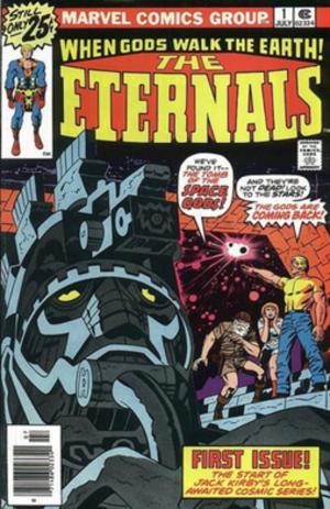 Eternals (comics) - Image: Eternals 1