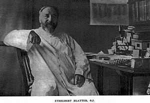 Ethelbert Blatter - Ethelbert Blatter, SJ pioneering taxonomist of the flora of the Indian subcontinent.