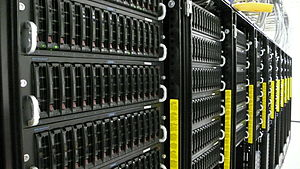 EtherDrive - Figure 2. SR EtherDrive Cluster These 60 Units can hold over 780 TeraBytes at RAID5 with 60 hot spares.