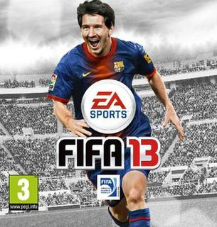 <i>FIFA 13</i> 2012 association football video game