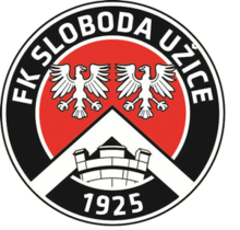 FK Sloboda Uzice logo transparent high quality.png