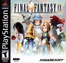 The North American box art of Final Fantasy IX.