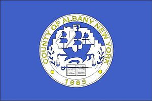 Albany County, New York - Image: Flag of Albany County, New York