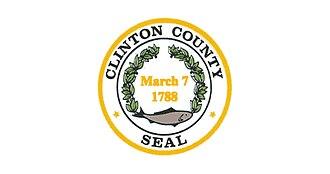 Clinton County, New York - Image: Flag of Clinton County, New York