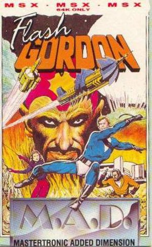 Flash Gordon (video game) - Image: Flash Gordon Cover