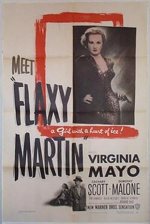 Flaxy Martin - Theatrical release poster