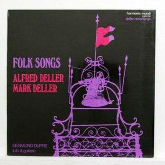 Folksongs (Alfred Deller album) - Image: Folksongs (Alfred Deller album)