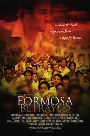 Formosa Betrayed (film) - Image: Formosa Betrayed