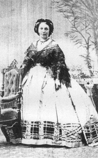 Sigismond Thalberg - Francesca, Thalberg's wife.