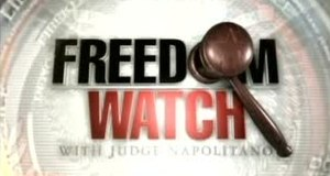 Freedom Watch with Judge Napolitano - Image: Freedom Watch logo