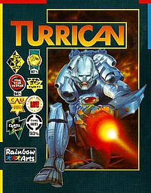 Front Cover of Turrican Game Box, May 2014.jpg