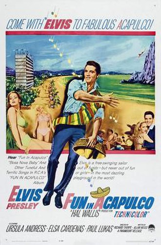 Fun in Acapulco - Image: Fun acapulco movieposter