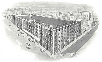George Weston - George Weston Limited head office and factory, company product catalogue, Toronto, 1920.