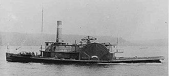 Goliah (steam tug 1849) - Image: Golian (steam tug) under way