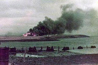 Battle of Goose Green engagement of the Falklands War