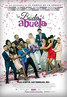 <i>Grandmas Wedding</i> 2019 Mexican romantic comedy film directed by Javier Colinas