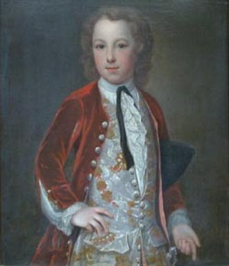 Granville Elliott - Granville Elliott (1713-1759) with permission from The Eliot Archives