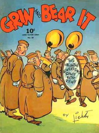 George Lichty - Dell's Grin and Bear It (1942)