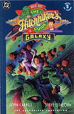 The front cover of the DC Comics adaptation of the first book.