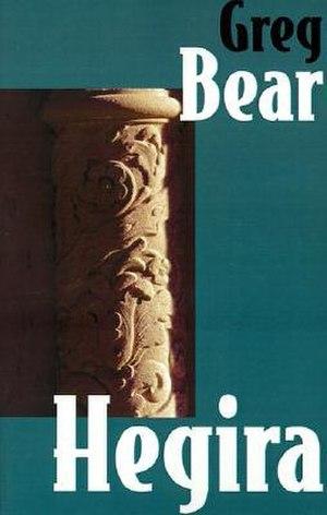 Hegira (novel) - Cover of first edition (hardcover)