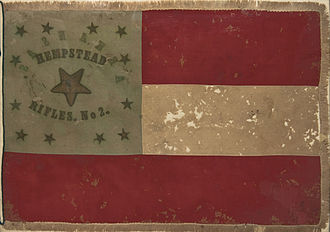 17th Arkansas Infantry Regiment (Griffith's) - Image: Hempstead Rifles No 2 Flag