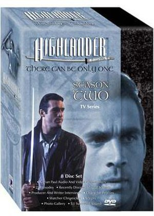Highlander: The Series (season 2) - DVD box set