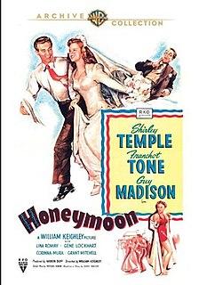 <i>Honeymoon</i> (1947 film) 1947 comedy film by William Keighley