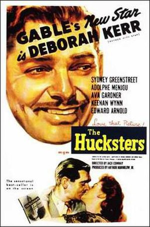 The Hucksters - Theatrical release poster