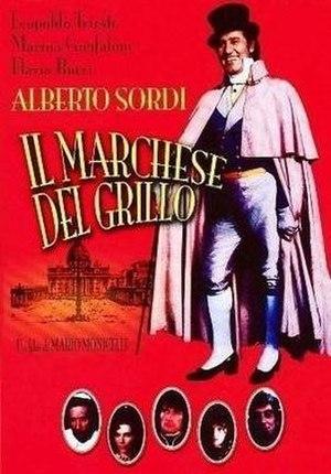 Il Marchese del Grillo - Image: Il Marchese del Grillo