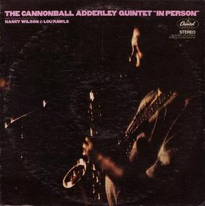 In Person (Cannonball Adderley album) - Image: In Person
