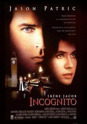 Incognito (1998 film) - Theatrical release poster