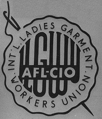 International Ladies' Garment Workers' Union - Image: International Ladies Garment Workers Union logo