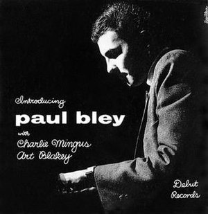 Introducing Paul Bley - Image: Introducing Paul Bley