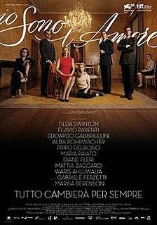 <i>I Am Love</i> (film) 2009 film by Luca Guadagnino