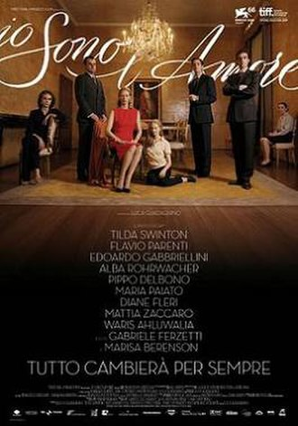 I Am Love (film) - Original Italian poster
