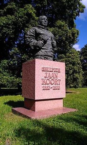 Jaan Koort - Statue of Koort in Kadriorg Park, Tallinn.
