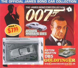 James Bond Car Collection - Magazine Cover from Issue 1