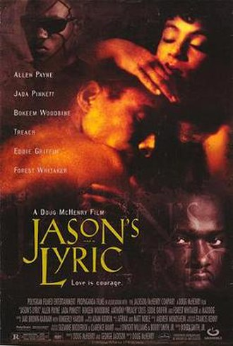 Jason's Lyric - Theatrical release poster