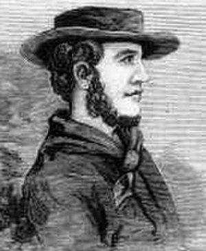 John Batman - Bust (likeness) of John Batman from 1882 engraving