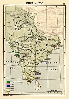 dynastic empire extending over large parts of the Indian subcontinent