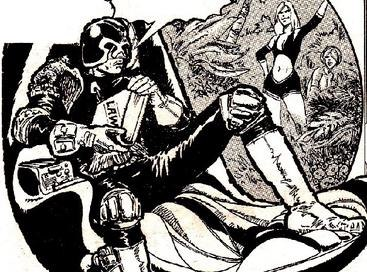 Judge Dredd by Carlos Ezquerra 1977
