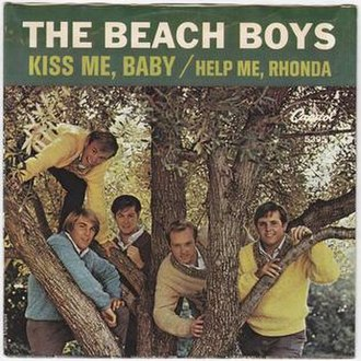 Kiss Me, Baby - Image: Kiss Me, Baby The Beach Boys