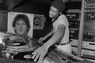 Larry Levan - Levan performing at the Paradise Garage