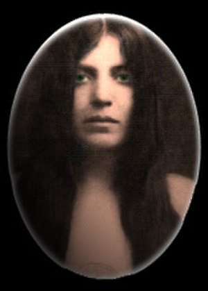 Leila Waddell - Photo of Leila Waddell, Laylah, from Aleister Crowley's The Book of Lies.