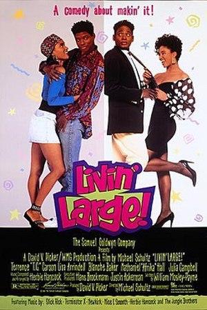 Livin' Large - Image: Livin' Large Film Poster