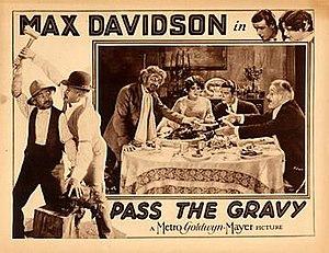 Pass the Gravy - Lobby card advertising film